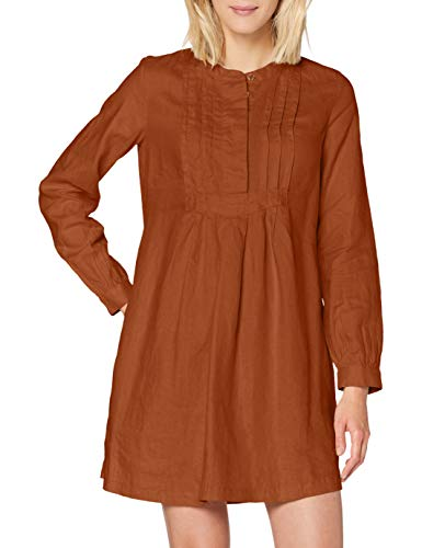 United Colors of Benetton 4AGH5VAZ4 Vestito, Rustic Brown 3g4, XS Donna