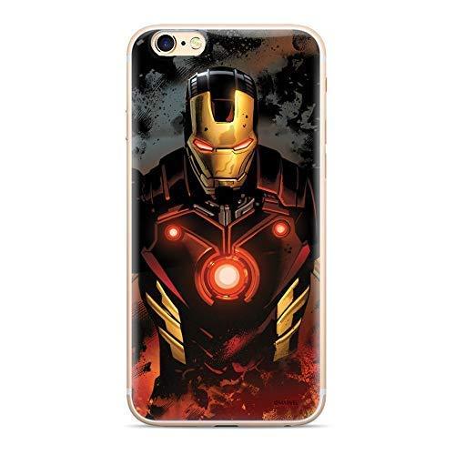 Finoo Marvel iPhone Silicone Serie 02 - Iron Man V6, iPhone 5/5S/SE
