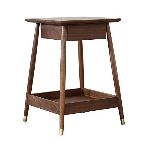 Koffie tafel en lades Casual rechthoekige tafel Basic Home Decor met opslag planken gemaakt van hout ronde salontafel