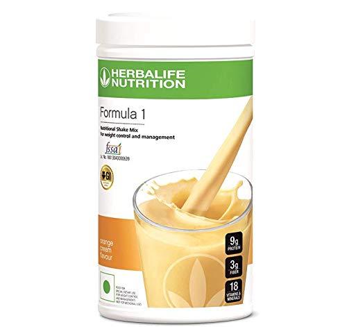 Herbalife Formula 1 Healthy Meal Nutritional Shake Mix 500g (Orange Cream)