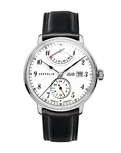 Zeppelin Men's Automatic Watch LZ 129 Hindenburg 70601 with Leather Strap