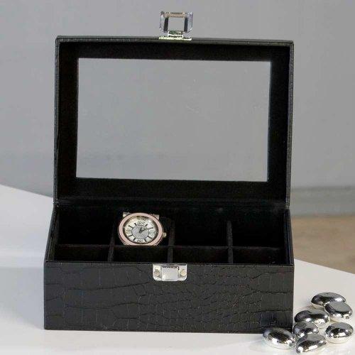 Edle Uhrenbox Watches Box für Uhren Behälter Aufbewahrung Uhr by Casablanca
