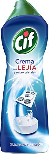Cif Crema con Lejía | Pack de 7 Unidades | 750 ml por Undad | Hijiene Total | Maxima Limpieza