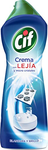Cif Crema Lejía - 7 Recipientes de 650 ml - Total: 4550...
