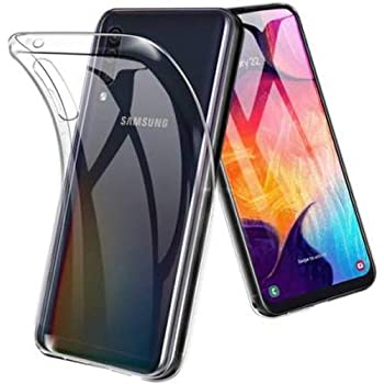 Amazon Brand - Solimo Soft & Flexible Back Phone Case for Samsung Galaxy A50s / Samsung Galaxy A50 / Samsung Galaxy A30s (Transparent)