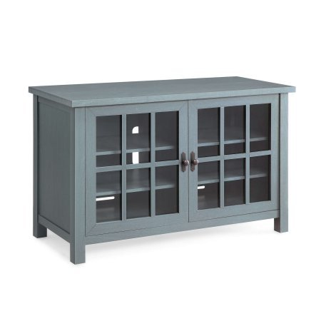 "Better Homes and Gardens Oxford Square TV Console for TVs up to 55"",Blue"