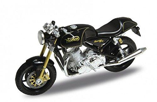 DieCast Modell Motorrad Norton Commando 961 SE schwarz Welly Motorradmodell 1:18