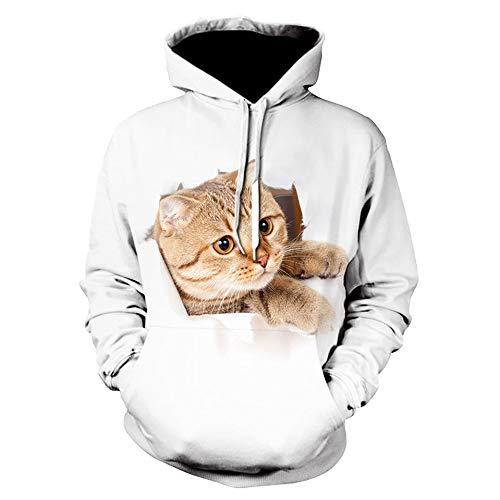 x8jdieu3 Sweat-Shirt Sweat-Shirt Couple Automne et Hiver modèle 3D
