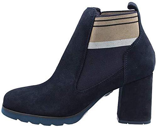CALLAGHAN Zapatos de Mujer Botines con tacón 25704 Azul Talla 37 Azul