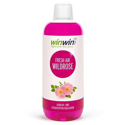 winwin clean Systemische Reinigung winwinCLEAN LUFTREINIGUNGS-Konzentrat Fresh AIR \'WILDROSE\' 1000ML