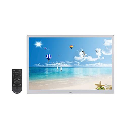 15 pollici in lega di alluminio ultra-sottile lato stretto HD 1080P parete foto digitale cornice per foto telecomando elettronico cornice per foto macchina pubblicitaria album - compatibilità forte