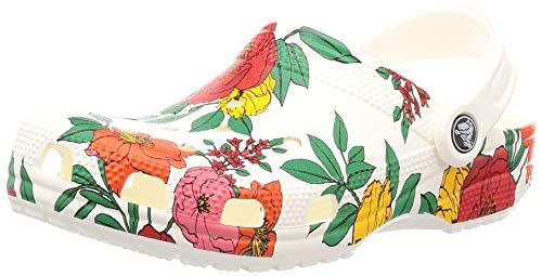 Crocs Womens 206376-10D_38/39 Slides, White, EU
