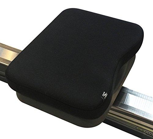 Cojín de espuma viscoelástica hecho para máquina de remo y bicicleta estática reclinable, color negro ✅