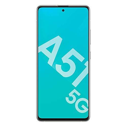 Samsung Galaxy A51 5G 128Go Blanc + BON D'ACHAT AMAZON - Smartphone Portable débloqué - Compatible Réseau Français - Ecran: 6,5 pouces - Double Nano SIM - Android