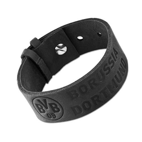 BVB 11643300 Lederarmband, schwarz
