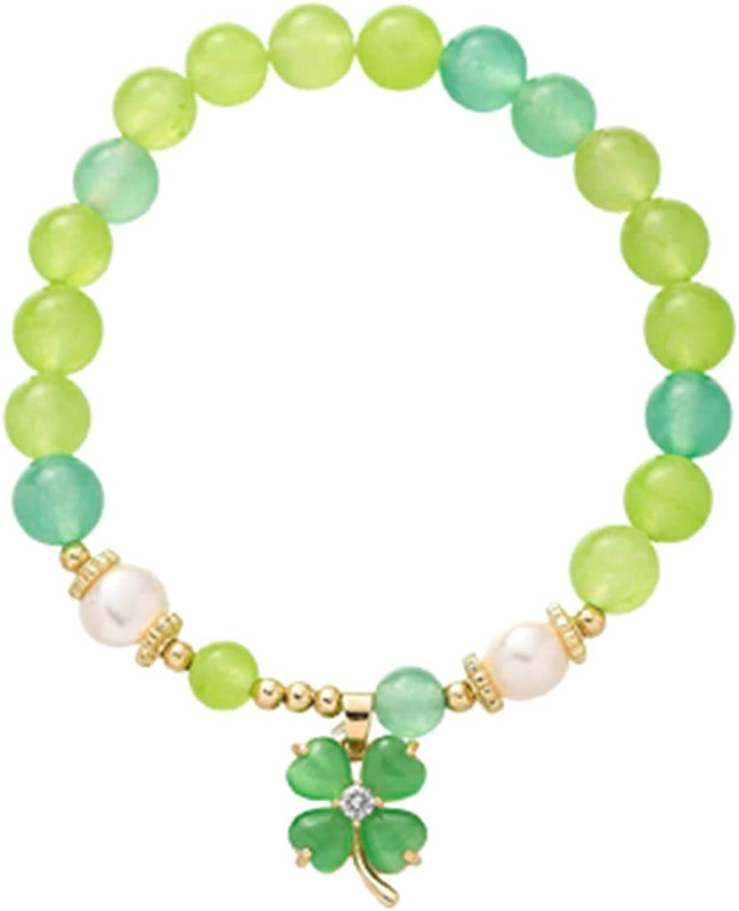 KEAIMEI Natural Stone Gradient Elastic Lucky Penda Sales of SALE items from new works Grass El Paso Mall String