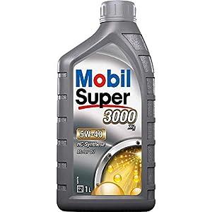 Mobil 1 Super 3000 - Aceite de Motor, 5W-40, HC Synthese
