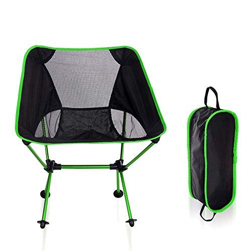Portable Folding Outdoor Picnic Fishing Camping Chair Backpack, Durable 600D Thick Oxford Cloth, Solid Aluminum Frame, Support 150kg, With Tote Bag For outdoor, indoor