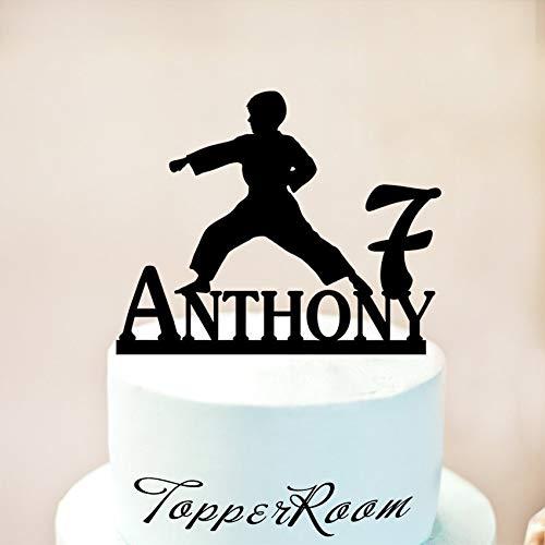 Karate Cake Topper,Male Martial Arts,Karate Party,Karate Decor,Cake Toppers,Birthday Cake Topper,NINJA KARATE Cake Toppers,Cake Decor