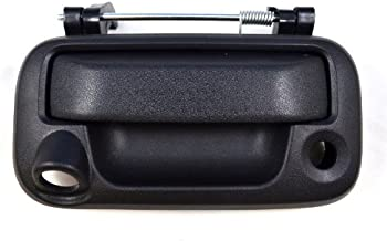 PT Auto Warehouse FO-3505A-TG2 - Tailgate Handle, Textured Black - with Camera Hole