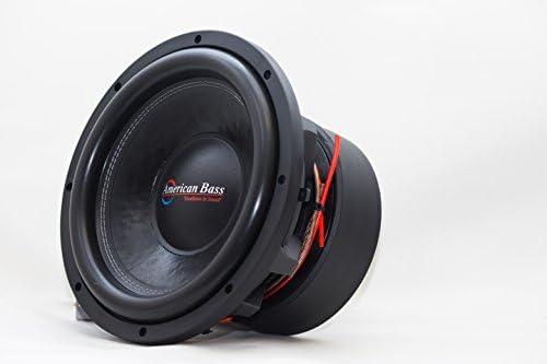 American Bass Usa HD 12D1 4000 Watt Dual 1 Ohm Subwoofer product image