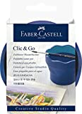 Faber-Castell Creative Studio 181540 Clic & Go - Vaso de agua, color azul