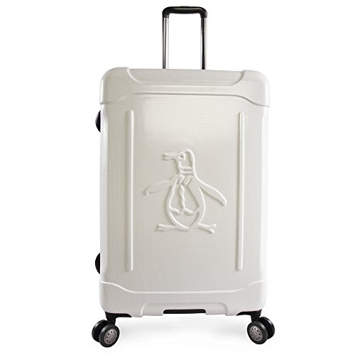 ORIGINAL PENGUIN Luggage Clive 29' Hardside Check in Spinner, White