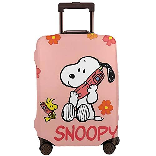 Snoopy Travel Maleta Protector Resistente a los arañazos, a prueba de polvo, elástico y flexible para equipaje de viaje, White (Blanco) - 364504617