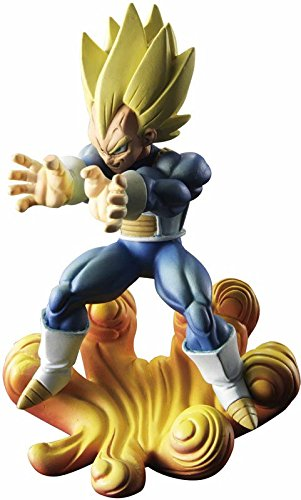 Dragon ball Z Figurine Gashapon Capsule Neo Legend of Super Warriors : Vegeta Super Saiyan Final Flash