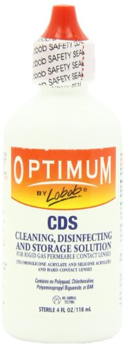 Lobob Optimum Cleaning Disinfecting and Storage Solution, 4 Oz