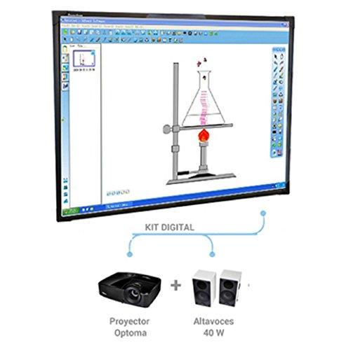 Promethean ActivBoard Touch 78 - Accesorio pizarra interactiva (USB, 5 m, Mac OS X 10.6 Snow Leopard, Mac OS X 10.7 Lion, Mac OS X 10.8 Mountain Lion, 2.0GHz Intel Core 2 Duo, 1024 MB, 0 - 50 °C)