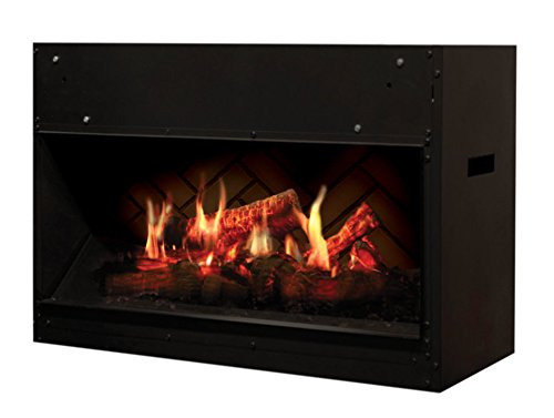 EWT opti-v Fire Single Indoor Built-in FireplaElectric BLACK – Kamin (760 mm, 350 mm, 450 mm, 26 kg, 860 mm, 450 mm)