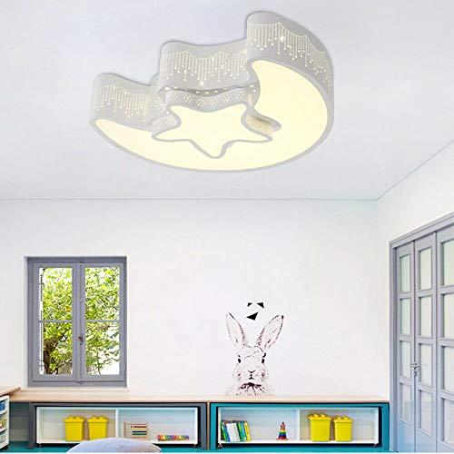 Style home 24W Kinder Deckenlampe LED Deckenleuchte Kinderlampe Voll dimmbar mit Fernbedienung 6285W-24WD (TÜV Zertifizierter Trafo)