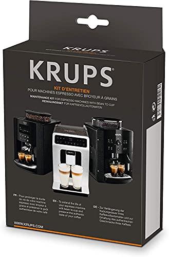 Krups XS5300 Reinigungs- und Pflegeset für Kaffeevollautomaten, Materialmix