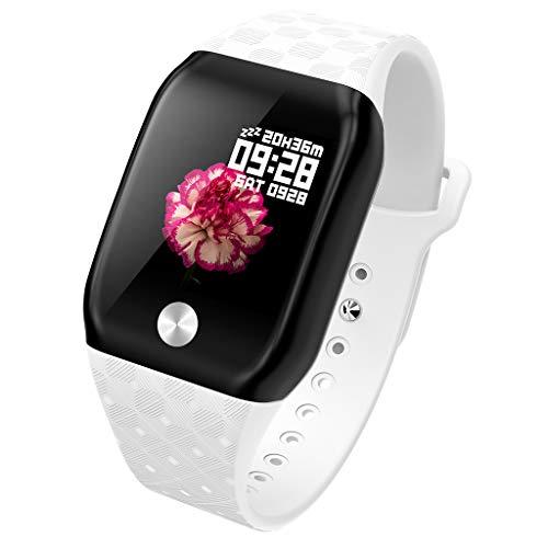 BOBOLover Pulsera de Actividad Inteligente, Reloj Inteligente Reloj Digital Reloj Deportivo Reloj Brazalete Deportivo Automatico Pulsómetro Monitor de Ritmo Cardíaco Sueño