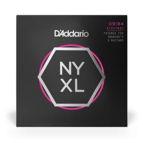 D'Addarioダダリオエレキギター弦NYXL.strandberg*CustomLight8弦.009-.084NYXL0984SB【国内正規品】