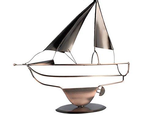 Bavaria Home Style Collection Flaschenhalter Segler - Schiff - Boot - Segelschiff - Weinflaschenhalter - Eine tolle Geschenkidee oder Mitbringsel