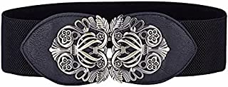 YouBella Jewellery Celebrity Inspired Adjustable Kamarband Waist Belt for Women/Girls (YB_Belt_20) (Black)