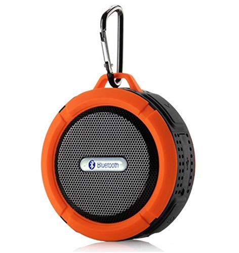 C6 Altavoz PORTATIL Bluetooth, 5W DE Potencia, Impermeable, Lector Tarjetas Micro SD,...