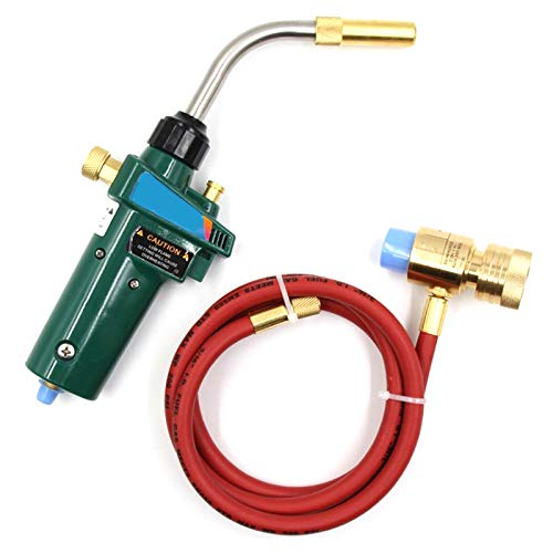 Profire Plumbers Torch Blowlamp MAPP Propane Gas bottle heating brazing solder