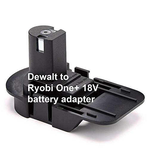Dewalt Battery Adapter to Ryobi One+ - Badaptor Replacement for Dewalt Batteries for Power Tools Works with Ryobi 18V One+ Cordless Power Tools + European Hand Cream + e-Book