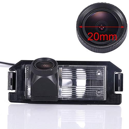 HDMEU Auto Rückfahrkamera verbesserte Einparkhilfe mit 8IR Nachtsicht 170° Weitwinkel Wasserdicht Hoche Defination (schwarz) für Hyundai 130 Veloster i20 i10 Solaris (Verna) Hyundai Genesis