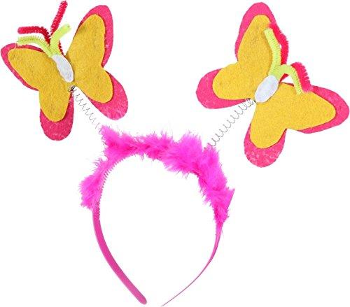 Serre-tête en forme de papillon