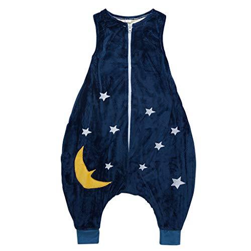 Bébé Gigoteuses 1.5 Tog Sac de couchage pour Bambin avec Des Jambes Fermeture à Glissière Devant 18-36 Mois