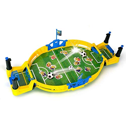 Find Bargain NILINBA Table Soccer Children's Double Battle Game Machine Parent-Child Interaction Gam...