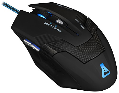 The G-Lab KULT80 - Ratón Gaming retroiluminado (2400 dpi)