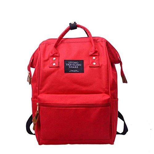 Vovotrade Rugzak Backpack Unisex Schoolrugzak van nylon, laptoptas voor tieners, of meisjes of jongens, coole sportrugzak, reisrugzak voor mannen en vrouwen