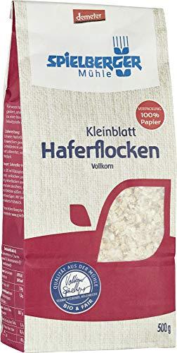 Spielberger Bio Haferflocken Kleinblatt, demeter (1 x 500 gr)