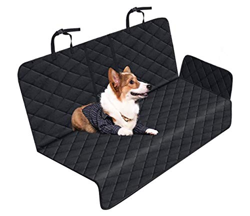 Dog Back Seat Cover Waterproof Protection Against Dirt and Pet Fur Backseat...