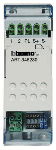 Reiheneinbau-Türöffnerrelais für Sfera Audio- und Video-Türsprechanlagen, 2-Draht